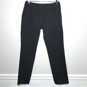 'S MaxMara Black Pleated Career Ankle Pants Size 6